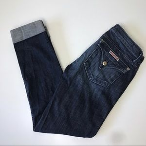 Hudson Cuffed Ankle Jeans